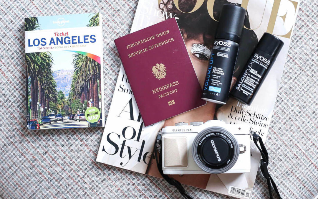 GETTING READY FOR L.A. – MEINE PACKLISTE!