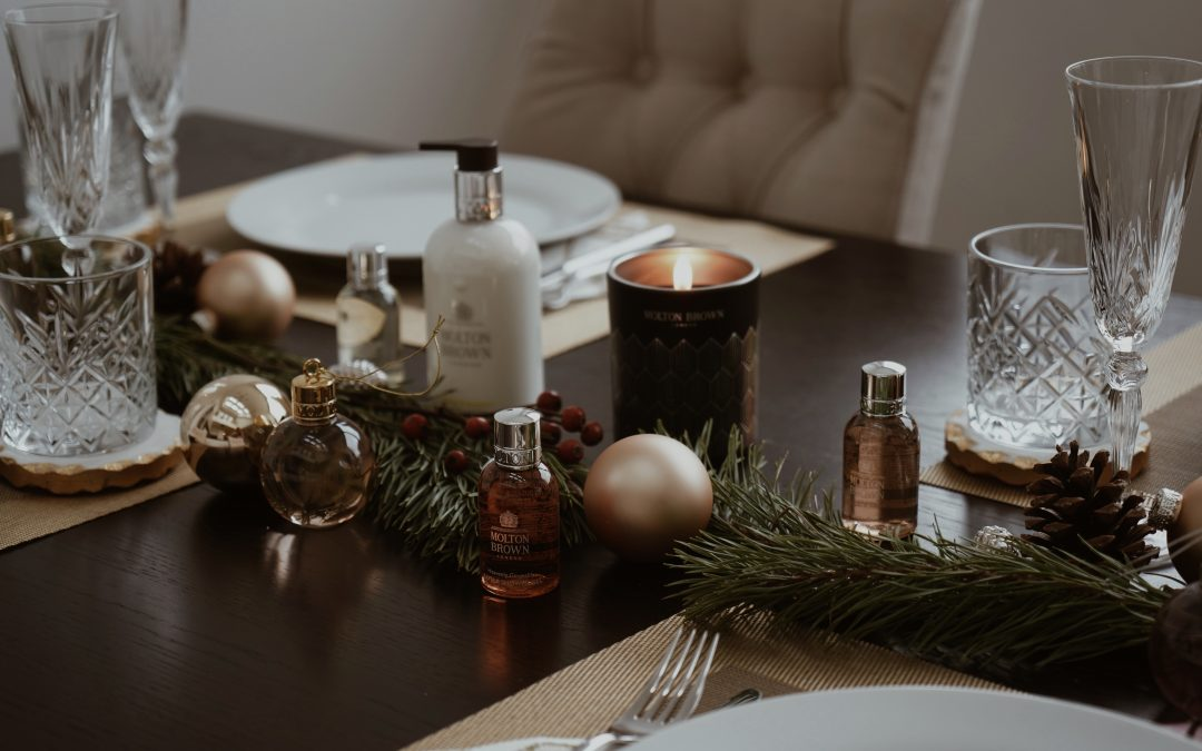 Decorating Home for Christmas with MOLTON BROWN